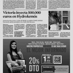 Expansión - Hydrokemós - Victoria Venture Capital